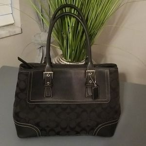 Signature Coach Purse Tote
